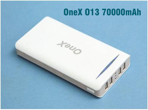 Sac du phong OneX O13 70000mAh