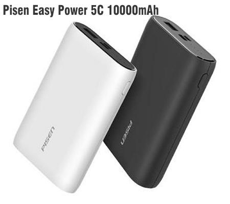 Sạc dự phòng Pisen Easy Power 5C 10000mAh