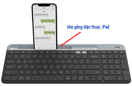 keyboard iPad Bluetooth Logitech K580