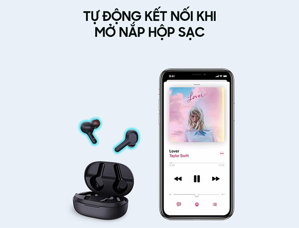 Danh gia tai nghe Earbuds Aukey EP-T25 4