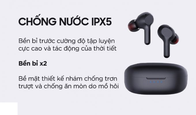 Danh gia tai nghe Earbuds Aukey EP-T25 5