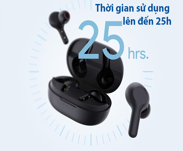 Danh gia tai nghe Earbuds Aukey EP-T25 7