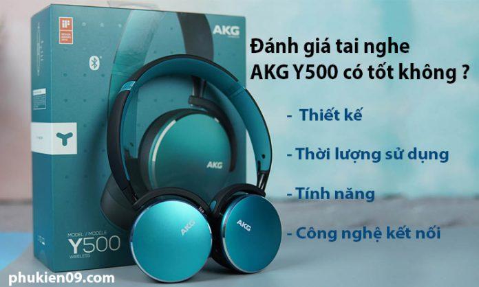 danh gia Tai nghe AKG Y500 10