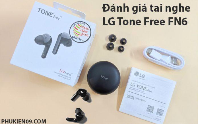 danh gia tai nghe LG Tone Free FN6